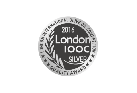 Silver Award in London International Olive Oil Competition 2016