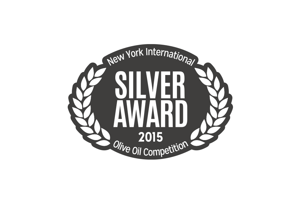 Silver Award in New York International Olive Oil Competition 2015
